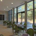 La salle du restaurant du Château