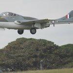 The Vamire landing at Culdrose air day