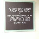 Using printer