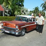 Taxifahrer Ernesto Linares Mendez Tel. mobil 52388082