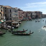 View of Grand Canal from Rialto Bridge
