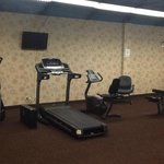 Fitness Room - dreary but decent cardio equipment