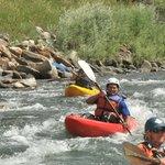 Kayaking the Gallatin River