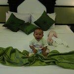 HUGE beds!