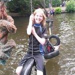 Fun playing in the Lake....!