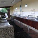 Great washing up facilities!