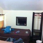Bungalow mit Klimaanlage und sogar TV