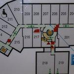 Hotel Layout - 2nd floor