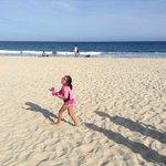 Playa limpia y muy segura