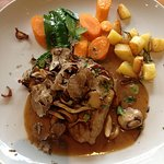 Steak with mushroom and Truffle