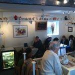 Inside the tearooms
