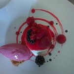 pana cotta fruits rouge