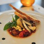 Artichoke, pepper & anchovy.