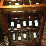 huge wine list