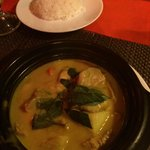 Chicken curry divino