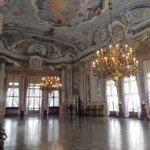Inside Ca' Rezzonico