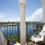 Waterview room balcony