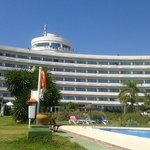 Hotel from sunbed