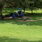 Small shady playground