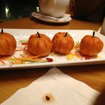 pumpkin dimsums