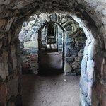 gangen van het fort