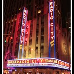 Radio City Neon at Night