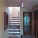 stairway in unit