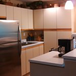 kitchen of first unit