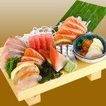 sashimi available in season