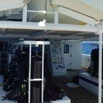 Dive deck of the Sea Hunter