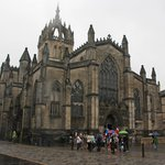 St. Giles Cathedral from Royal Mile