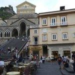 Pansa in Piazza Duomo. Amalfi
