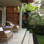 Private terrace (Uma Villa)