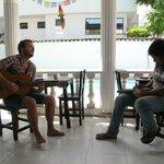 Jam session at the Wayward Hostal
