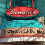 Binions Whiskey Licker Bar
