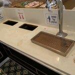 Zona de Café sin limpieza