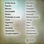 Manifiesto Pop Art, por Richard Hamilton