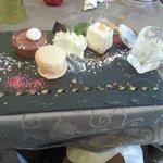 Desserts variés du chefs