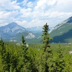 View from Sulphur Mountain nearby.