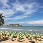 Spiaggia riservata Gattarella