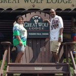 Outside Great Wolf