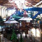 View Inside Waterpark