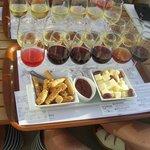 Santos wine tasting
