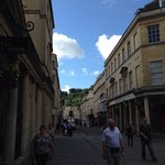 This is Europe. Bath feels like a small European town with history and culture.