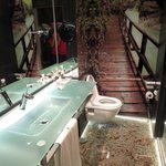 Cool bathroom, but watch out for the ricocheting sink!