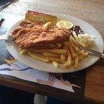 Wiener Schnitzel at Krazy Kanguruh