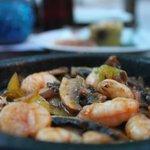 the shrimp sautee. so delicious!