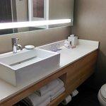 Trendy bathroom