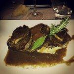 Filet de boeuf et son foie gras poêlé