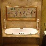 Livia's Suite amazing bath tub